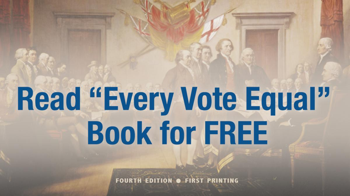 Every Vote Equal Book